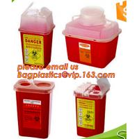 Buy cheap BIOHAZARD SHARP CONTAINERS, STORAGE BOX, CRATES, PET FOOD BOWL, DUSTBINS, PALLETS, BOXES, BANGDAGES, product