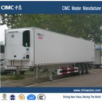 China high performance refrigerated semi trailer with thermo king refriger on sale