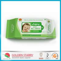 Fragrance Biodegradable Baby Wet Wipes 80 Sheets with Flip Lid