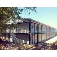 Buy cheap Two Story Steel Prefabricated Homes Warehouse Beam Industrial Building product