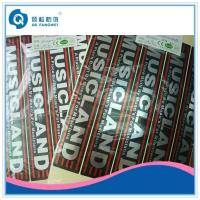 Buy cheap Glossy Silver Self Adhesive Plastic Labels / Glossy Silver Label For Electrical Equipment product