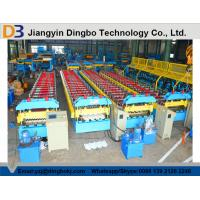 Buy cheap Chain Drive System Roof Panel Roll Forming Machine With Cr12 Metal Steel from wholesalers