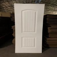 Buy cheap Environmental Friendly White Faced Hdf Door Skin For Exterior House Decoration product