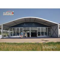Buy cheap Dome Shape Outdoor Party Tent Tempered Glass Walls And Glass Door product