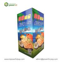 Buy cheap Snacks Candy Promotional Cardboard Dump Bin For Retail from wholesalers
