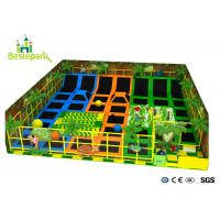 Buy cheap Professional Jumping Indoor Trampoline Park With Safety Net Foam Pit product
