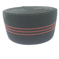 Buy cheap 3 Inch Elastic Upholstery Webbing Furniture Accessories Black Color product