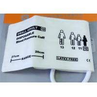 Buy cheap Single Tube Infant Size Blood Pressure Monitor Cuff NIBP Disposable Medical Accessories product