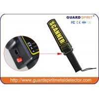 Buy cheap Rechargeable Hand Held Metal Detector For Security Guards / Factory product