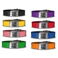 Buy cheap Medical silicone qr bracelet /id bracelet /silicone wristbands with custom color logo product