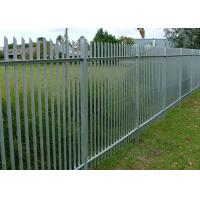 Buy cheap W Type Palisade Security Fence / Decorative Metal Palisade Fence Panels product