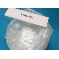 China Medical Raw Steroid Powders , LGD-4033 Ligandrol For Muscle Gaining wholesale