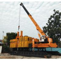 Buy cheap T-works ZYC600 Yellow Color Jacking Pile Pressing Machines For Phc Pile Piling Foundation product