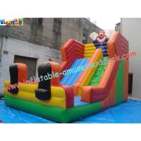 Buy cheap Clown Water-proof Commercial Inflatable Dry Slides For Water Games 7L x 4W x 5.5H Meter product
