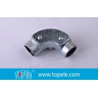 Buy cheap Inspection Bends Malleable Iron BS4568 Conduit Internal Threads product