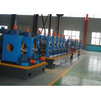 Buy cheap Fast Speed ERW Carbon Steel Tube Mill For Pipe Making Machine , CE / ISO product
