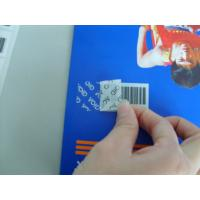 Buy cheap Adhesive VOID Tamper Eviden Security Labels Various Types For Brand Protection product