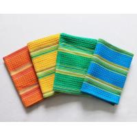 Buy cheap 100% Cotton Waffle Hanging Dish Towels Bamboo Fiber With Good Shrink Resistance product