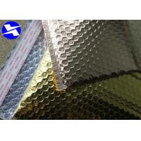 China Customize Logo Metallic Bubble Envelopes , Metallic Mailing Bags 7*9 Inch Size on sale