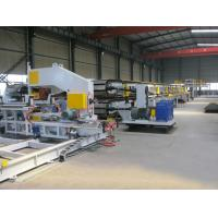 Buy cheap Japan Mitsubishi PLC Aotomatic Control  PU Sandwich Panel Production Line product