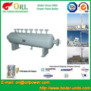 Buy cheap Saída ateada fogo carvão do vapor de água quente do equipamento da caldeira de cilindro da lama da caldeira product