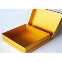 Buy cheap Yellow Antique Lamination Printed Gift Boxes With lids For Clothes product