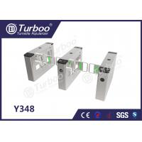 Buy cheap Swing Barrier Gate / Access Control Turnstile Gate High Brightness Indicator product