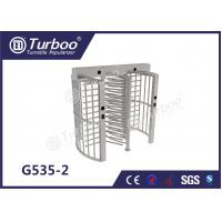 Buy cheap Pedestrian Full Height Turnstile High Revolving Door Running Stably Without Noise product