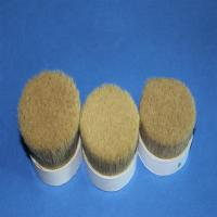 Buy cheap Double Natural Boiled Bristles For Paint Brushes Pure Boar Bristle Custom Color product