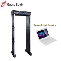 Buy cheap Sports Stadium Inspection Foldable Portable Metal Detector Body Scanner 355 Level Sensitivity product