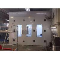 Inner Ramps High Precision Paint Booth , Powder Coating Spray Booth Hire