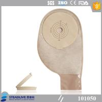 Less Residual Disposable Ostomy Bag With Light Brown EVOH Material