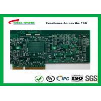 Buy cheap Printed Circuit Board Double Sided PCB 6 Layer Lead Free HASL + Gold Finger product