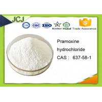 Buy cheap 99% Purity Topical Anesthetic Powder Pramoxine Hydrochloride with CAS 637-58-1 product