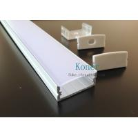 Buy cheap Surface mounting 10mm flat profiles,led system profile,led strip profile product