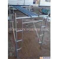 Buy cheap Open End Frame Scaffolding System of Height 1930mm with Steel Stairs product