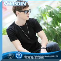 Buy cheap 140 grams china wholesale 100% cotton men cheap price T shirt with short sleeve product
