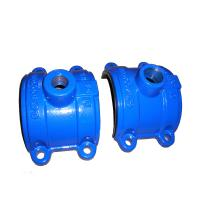 Buy cheap ISO Casting Ductile Iron Saddle Tee Without Flange 300psi DN80 to DN2000 product