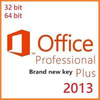 Buy cheap Microsoft Office Product Activation Key , Microsoft Office 2013 Professional Plus Keys product