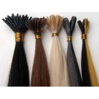 China Beautiful Silky Straight Indian Human Hair U-tip Hair Extension on sale