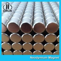 Buy cheap Disc Shaped Neodymium Permanent Magnets , N38 Ndfeb Magnet Super Strong product