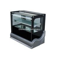 Buy cheap Manual Defrost Cake Display Freezer / Bakery Display Cooler With Customized from wholesalers