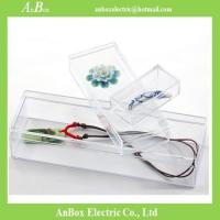 Buy cheap 2.1mm Thinkess Transparent PS Clear Plastic Enclosures product
