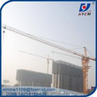 China TC6520 Construction Tower Crane 3m Chip style Mast Section With 7.5m Base Mast on sale