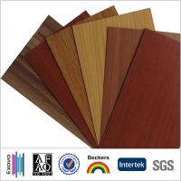 Buy cheap 15 years guarantee for wooden design color aluminum composite panels product
