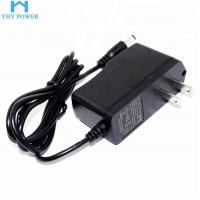 Buy cheap 12 Volt 12V 1A 1000MA Power Supply Adapter Plug In Connection Black Colour product
