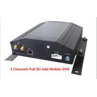 Buy cheap Digital Video Recorder 4Ch Full D1 HDD & SD Card Car Mobile DVR Support GPS 3G / WIFI product