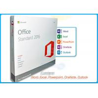 Buy cheap 32 / 64 BIT Microsoft Office 2016 Standard License English Language Version product