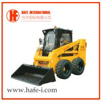 Buy cheap Wheel skid steer loader SL110 With E3 engine multiple attachments Bobcat product