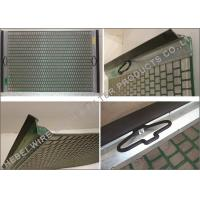 Buy cheap Oilfield Mud Cleaner Shale Shaker Screen Flat / Pinnacle Structure 20 - 325 Mesh product